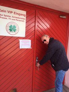 Sport in Zeiten der Coronakrise, Besuch bei Rot-Weiß Oberhausen und #M4MvsCOVID